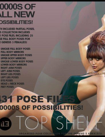 i13 Top Shelf Poses for the Genesis 3 Female(s)