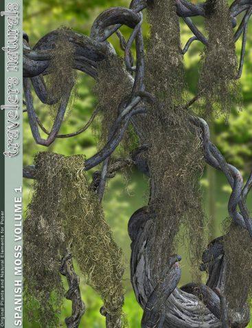 Traveler's Naturals - Spanish Moss Vol 1