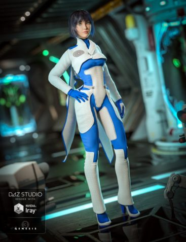 Lieutenant Synergy Outfit for Genesis 3 Female(s)