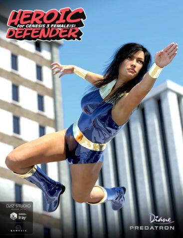 Heroic Defender for Genesis 3 Female(s)