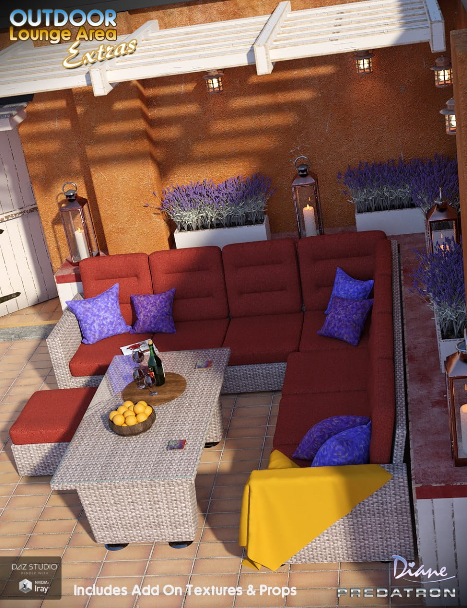 Outdoor Lounge Area Extras