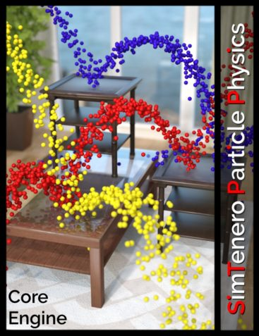SimTenero Particle Physics - Core Engine