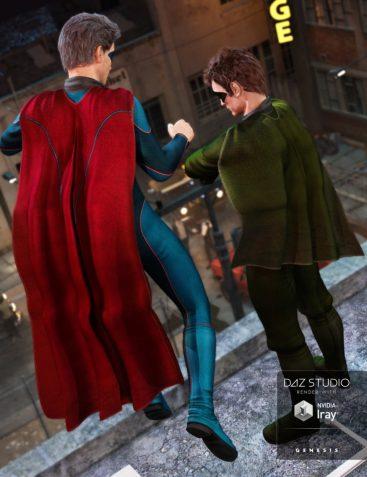 Super Hero Cape New Hero Textures