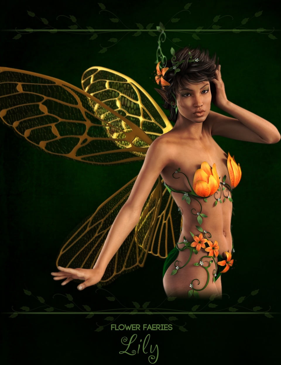 Flower Faeries for Genesis 2 Female(s) - Lily Fae