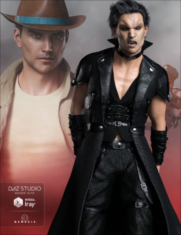 FWSA Vampire Expansion and Hunter Kit for Genesis 3 Male(s)