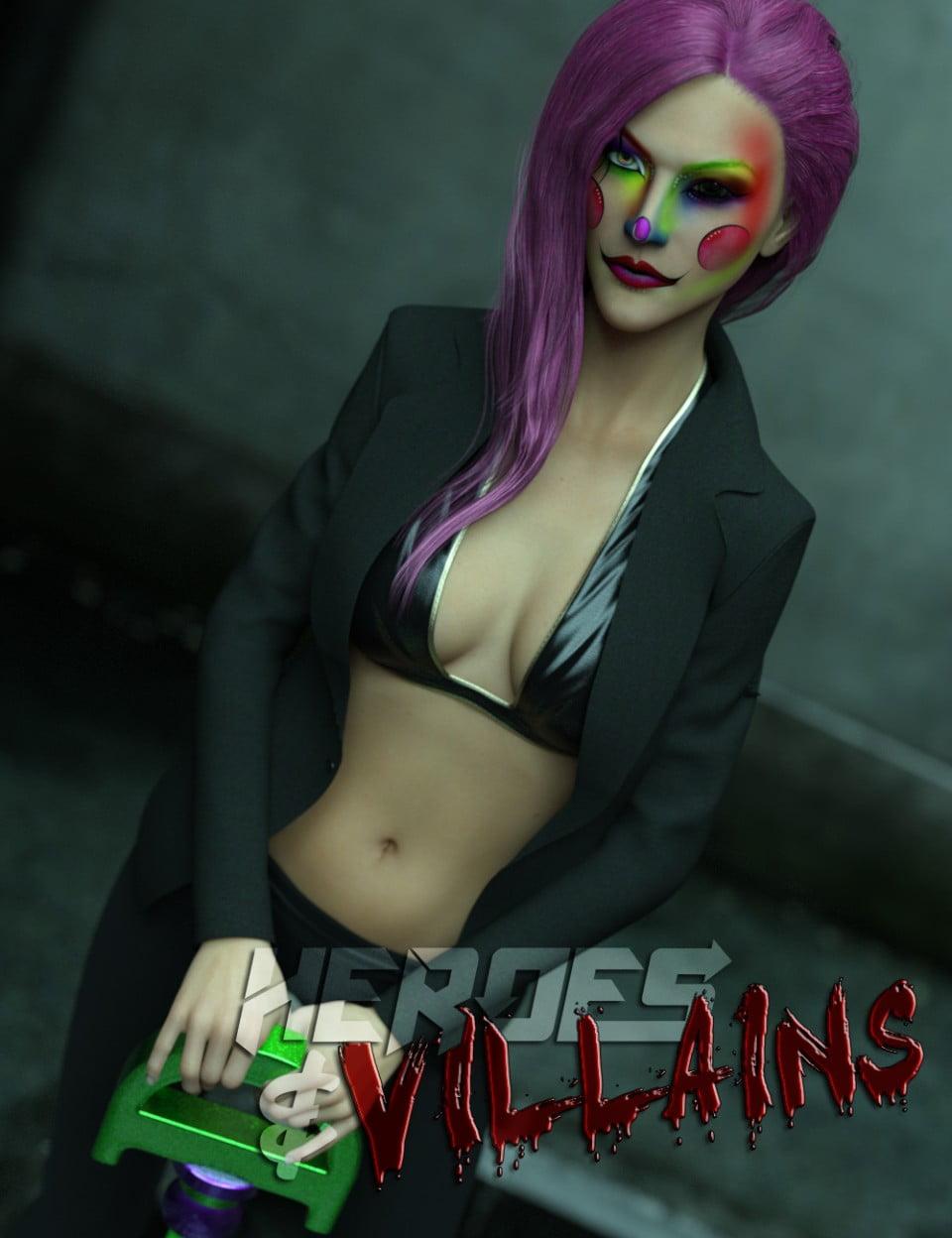 Heroes & Villains: Dee Vious for Genesis 3 Female