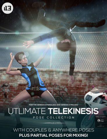 i13 Ultimate Telekinesis Pose Collection