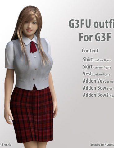 G3F U-outfit for G3F