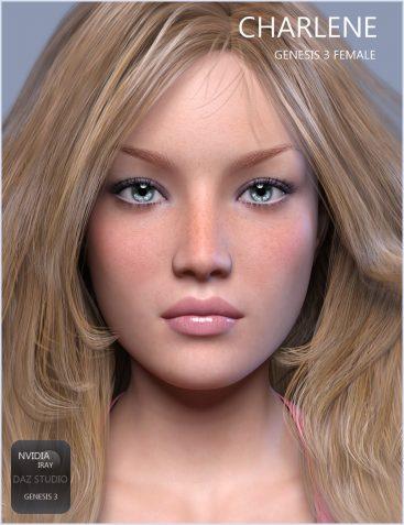 GDN Charlene for Genesis 3 Female