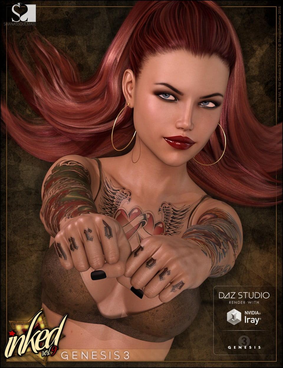 Inked Vol. 9 for Genesis 3 Female(s)