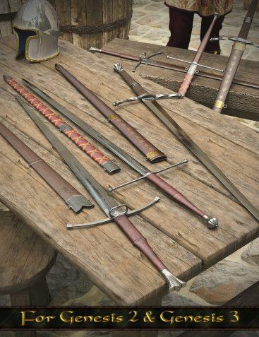 Medieval Weapons 1: Longswords