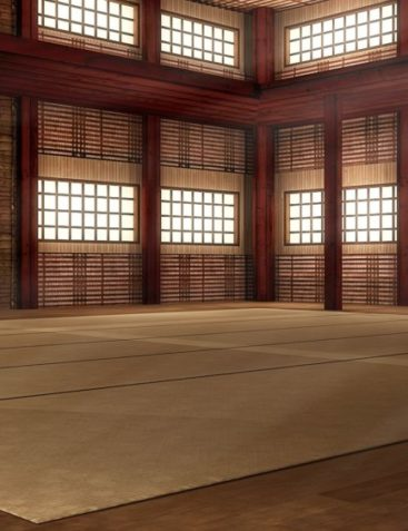 Martial Arts Dojo Interior