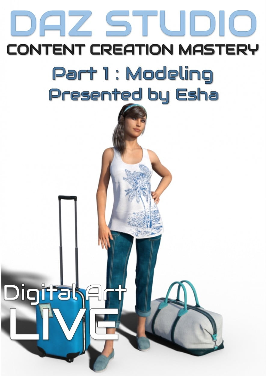 Daz Studio Content Creation Mastery Part 1 ⋆ 3d-stuff Community