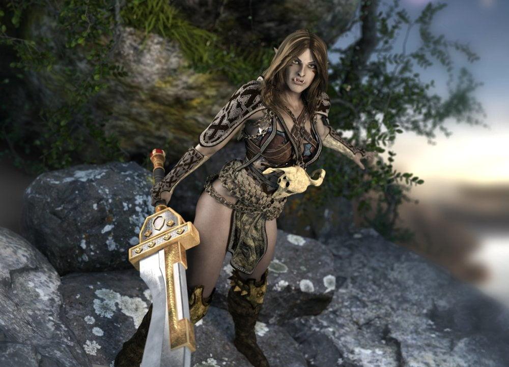 Fantasy Races: Nargol the Half-Orc