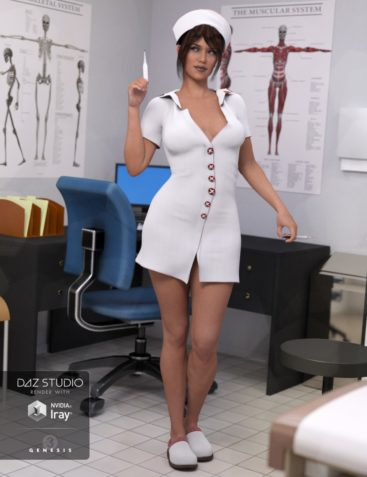Clinical Therapy Outfit for Genesis 3 Female(s)