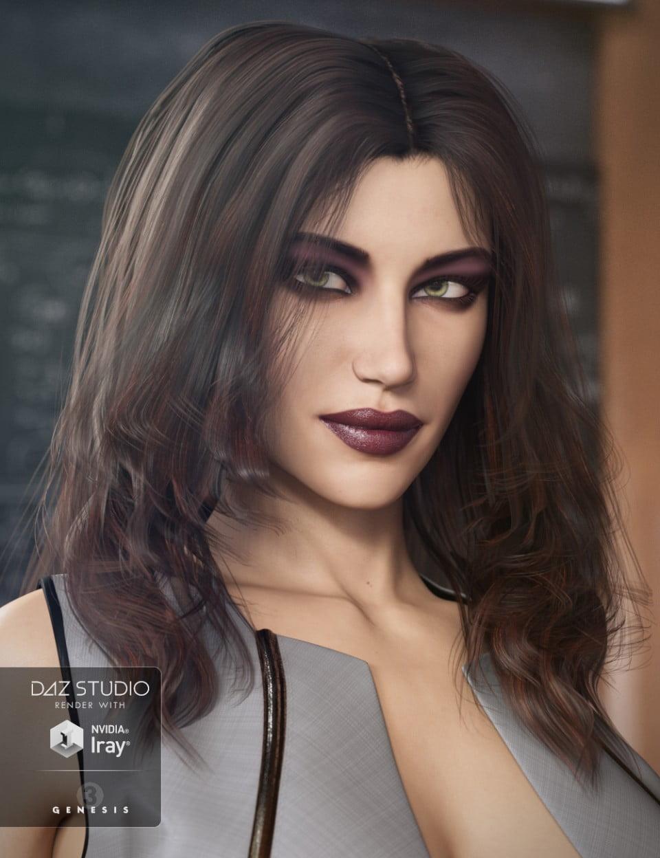 Katherine Hair for Genesis 3 Female(s)
