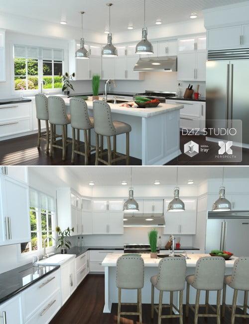 Modern Kitchen PerspectX