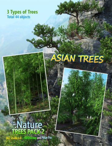 Nature - Trees Pack 2
