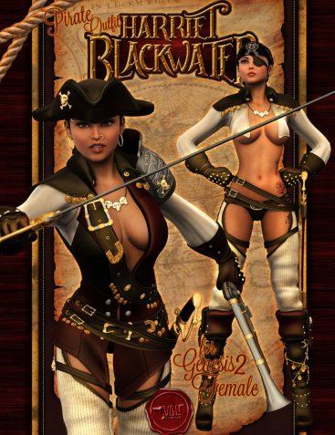 Harriet Blackwater - Pirate Outfit Gen2Fem