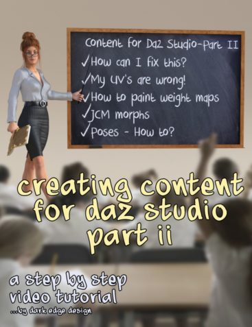 Creating Content for Daz Studio - Part Two