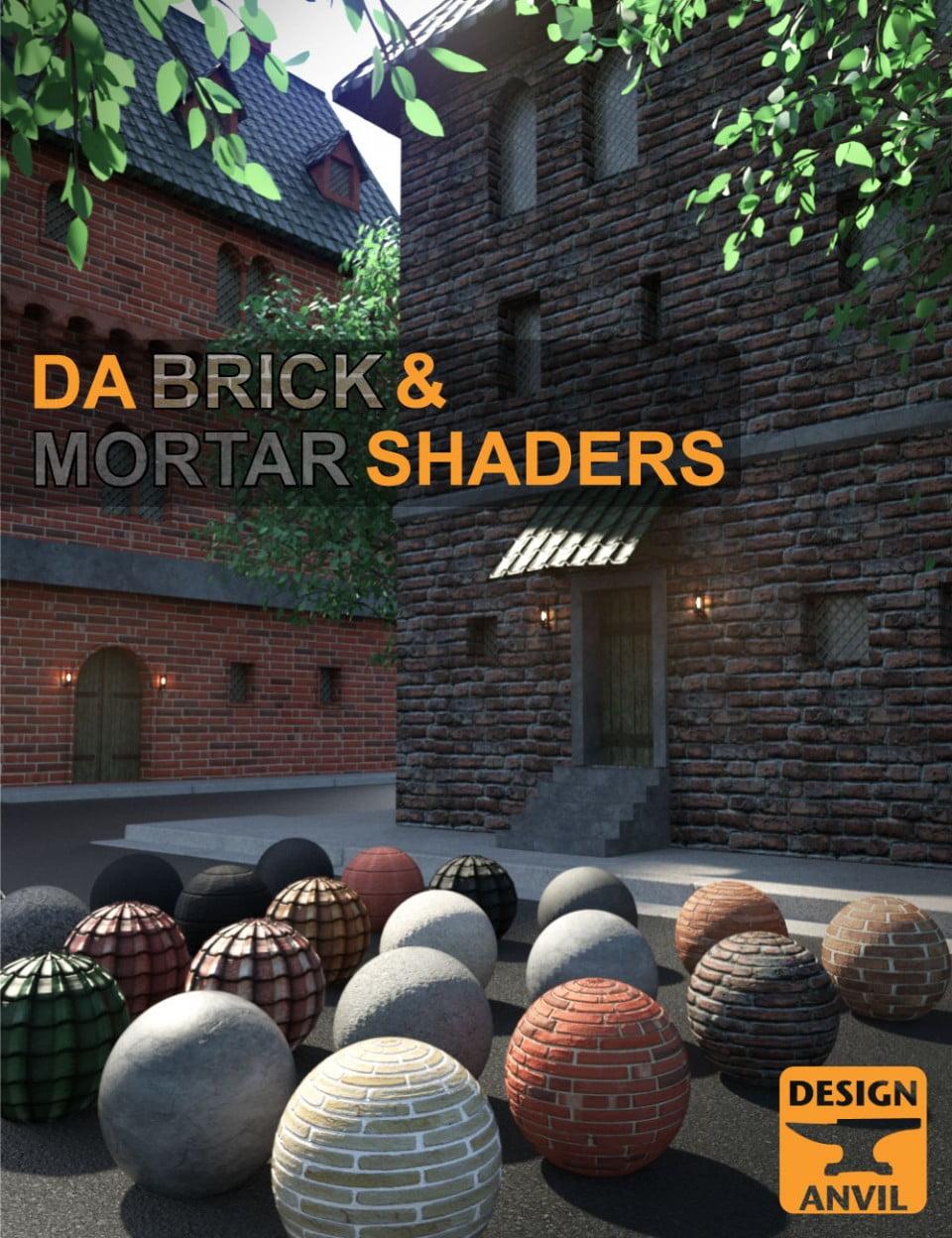 DA Brick and Mortar Shaders