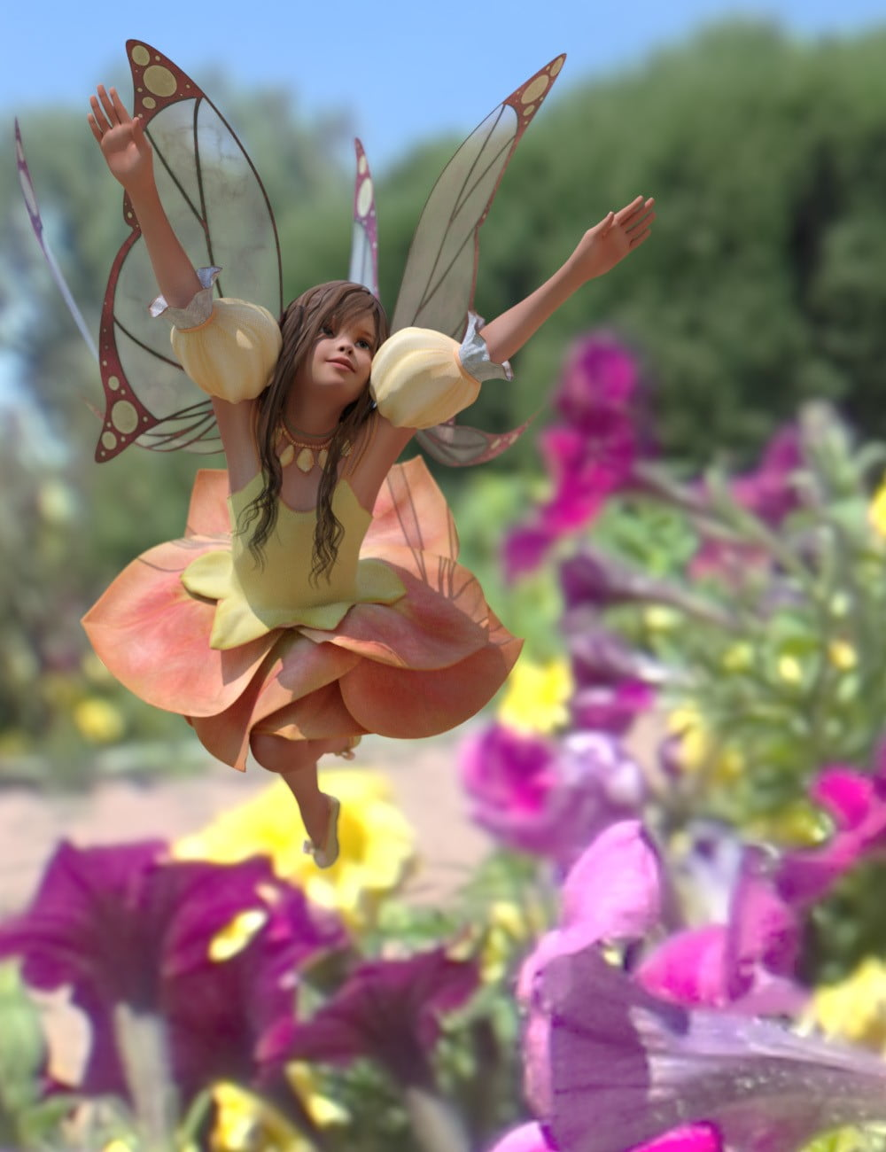 Fairy Scale IBL – Flower Fairy HDRI Environments