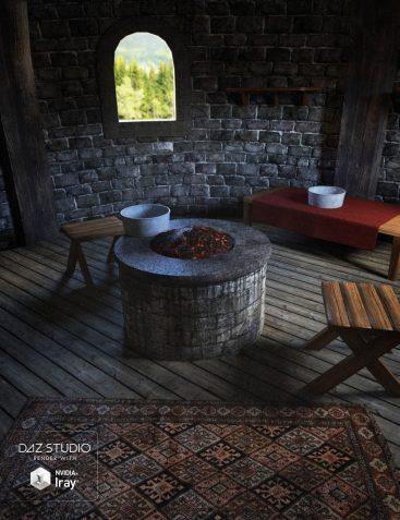 Fantasy Tower Room Interior