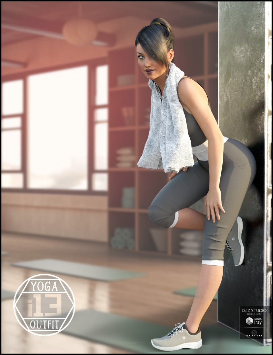 i13 Yoga Outfit for the Genesis 3 Female(s)