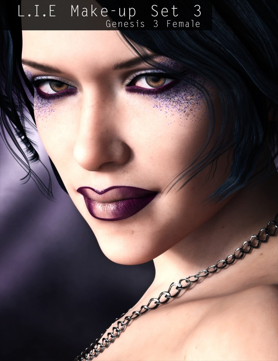 L.I.E Make-up Set 3 for Genesis 3 Female(s)