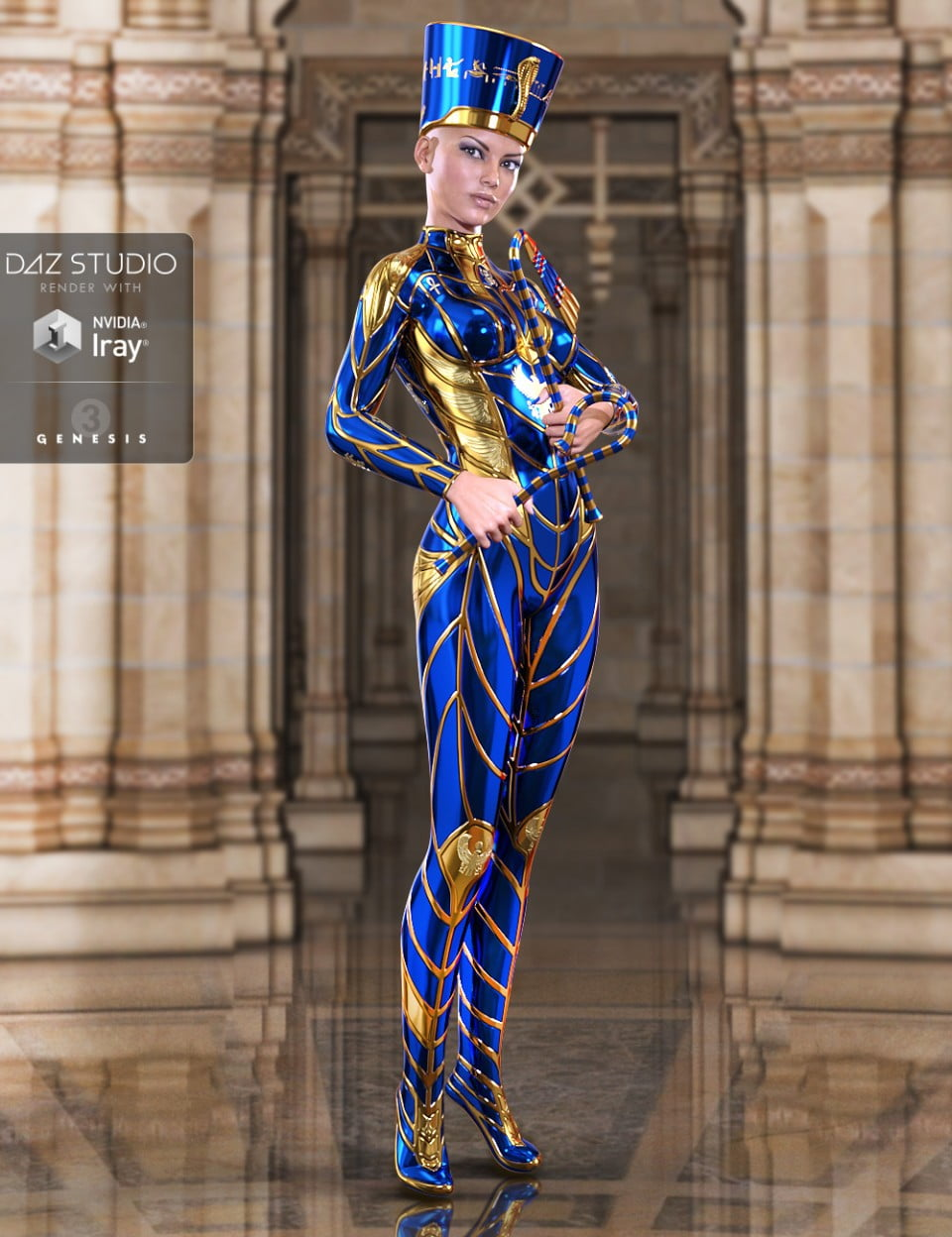 Sky Gods Nefertiti for Genesis 3 Female(s)