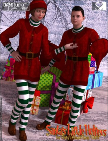 Santa's Little Helpers for Ginger Snap Outfit