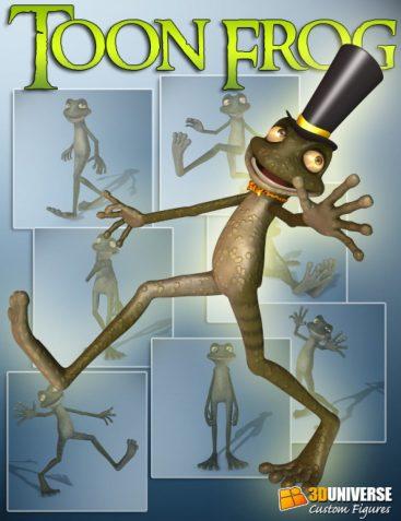 3D Universe Toon Frog
