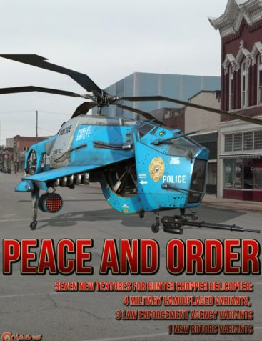 Peace and Order for Hunter Chopper