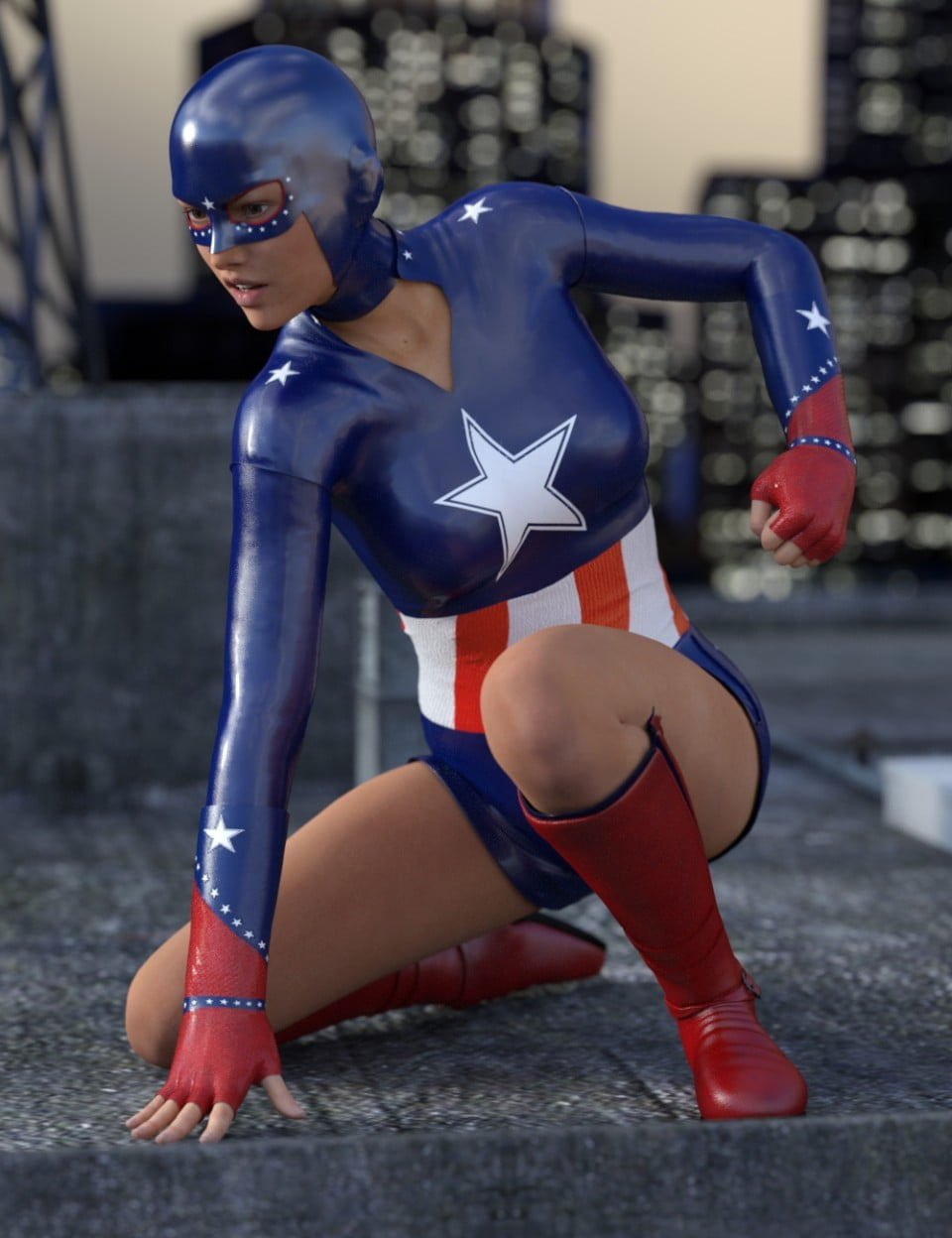 All American Hero for Genesis 3 Female(s)