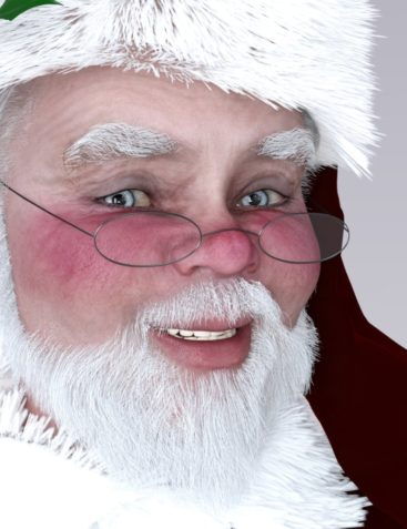 Redz Santa Claus For Genesis 3 and Genesis 2 Male