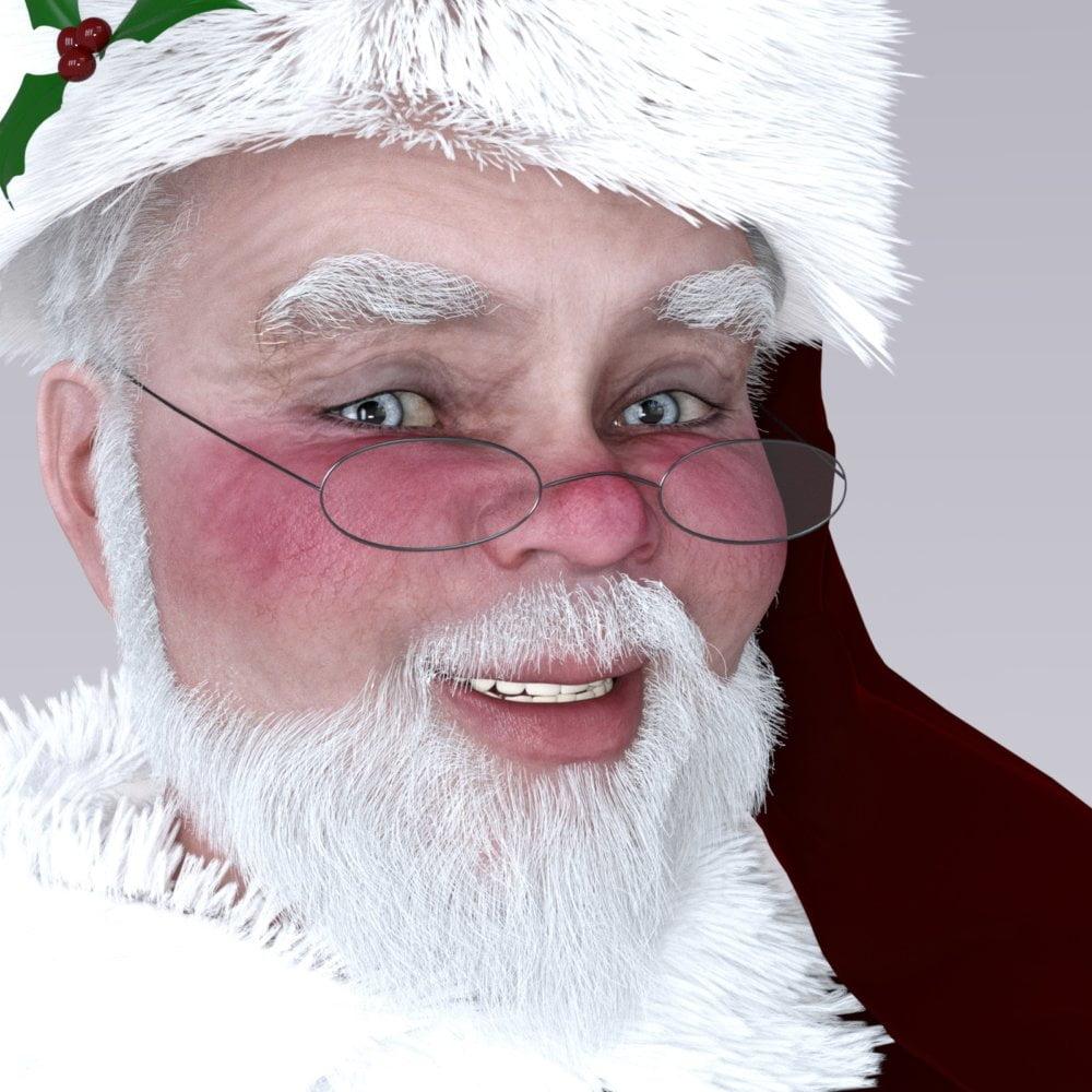 Redz Santa Claus For Genesis 3 and Genesis 2 Male