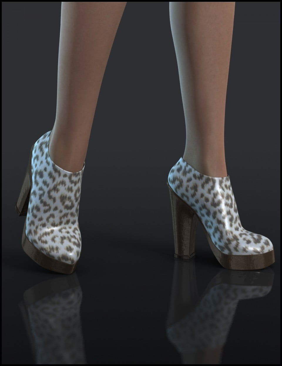 Chunky Boots for Genesis 2 Female(s)