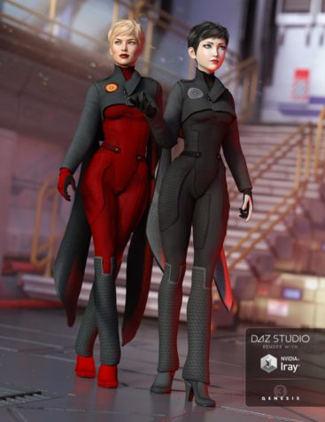Lieutenant Synergy Outfit Textures