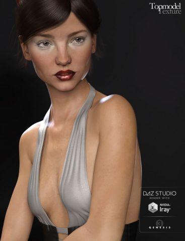 Topmodel Texture for Genesis 3 Female(s)