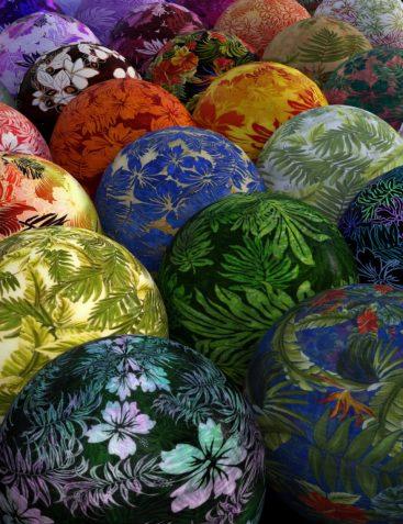 DG Iray Tropical Fabrics Shaders
