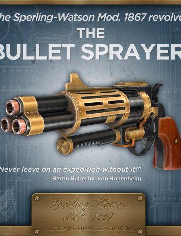 Sperling-Watson Mod. 1867 Steampunk Revolver