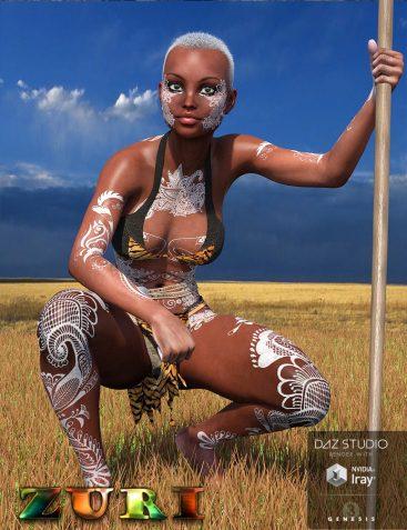 Zuri for Genesis 3 Female