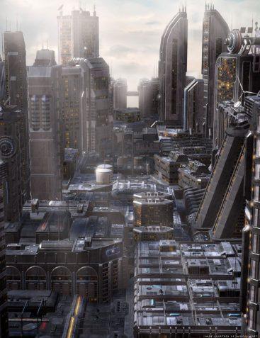 Future Cityscape Density Blocks