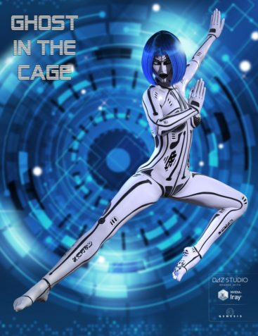 Ghost in the Cage for Genesis 3 Female(s)