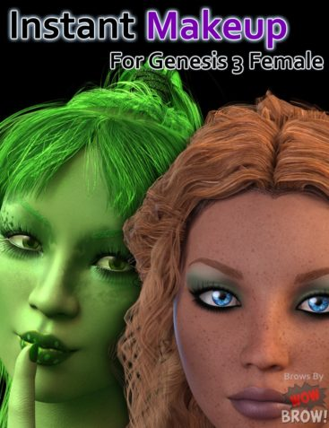 Instant Makeup for Genesis 3 Female