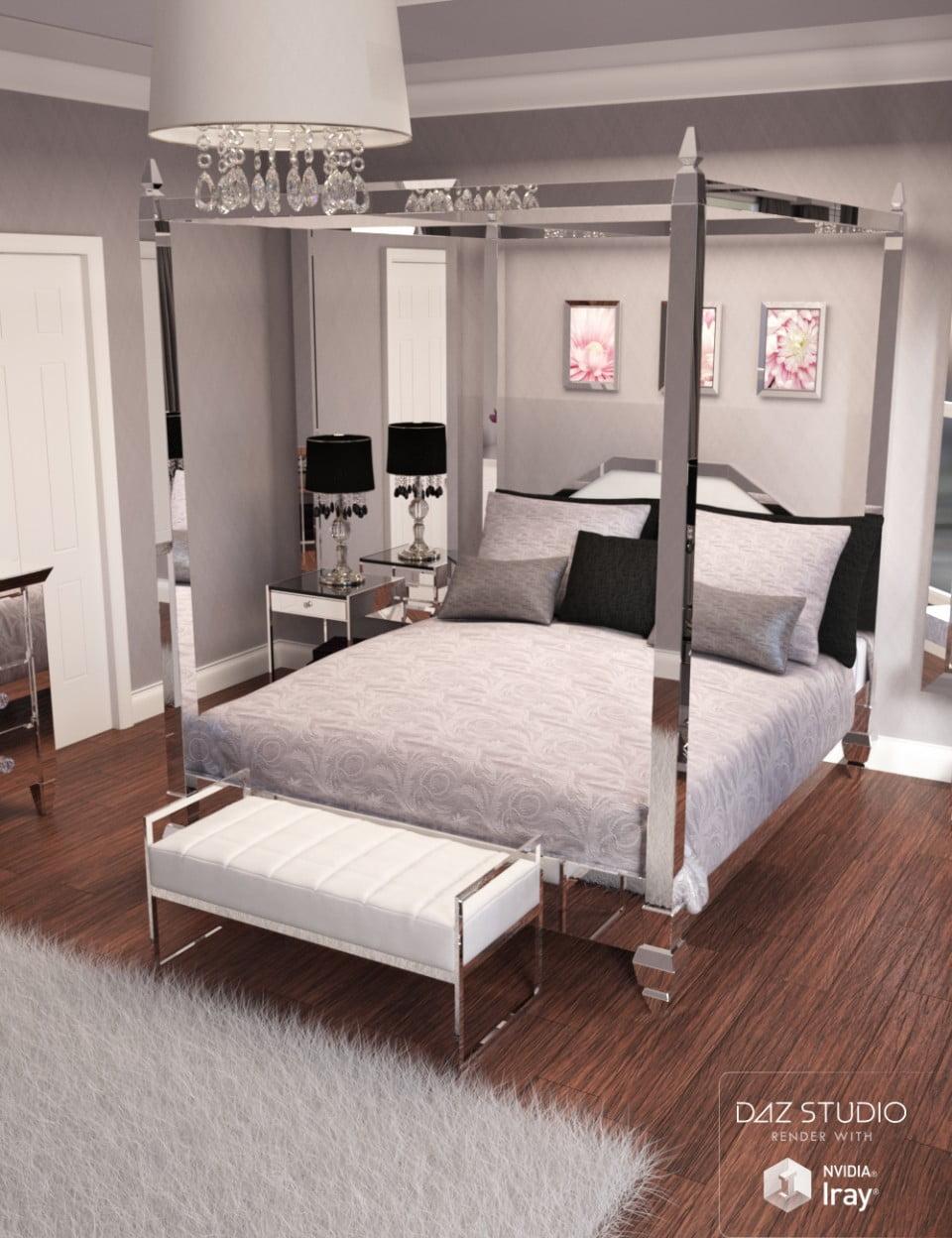 Pure Luxury Bedroom Scene