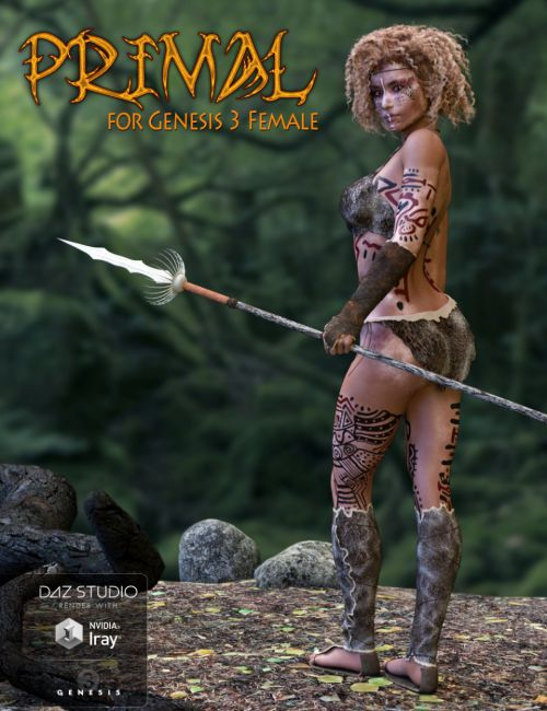 Primal Outfit for Genesis 3 Female(s)