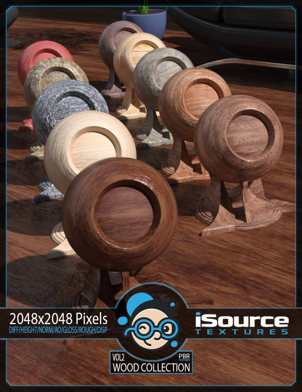 Wood Collection Merchant Resource – Vol2 (PBR Textures)