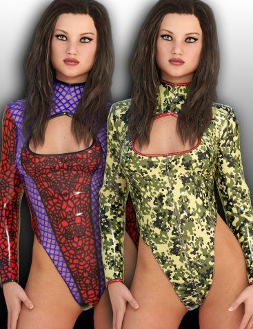LUST – Vixen Suit for Genesis 3 Female(s)