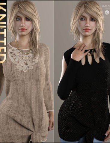 Knitted for Boat Neck Sweater